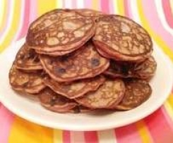 SF/GF Strawberry Pancakes