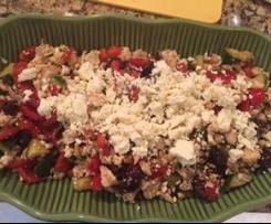 Cauliflower Greek Salad
