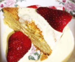 Strawberries & Cream Shortcake