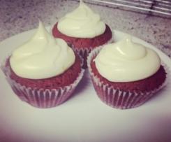 Raspberry Red velvet cupcake