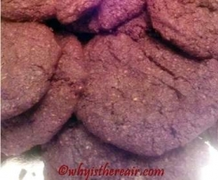 Double Chocolate Chunk Cookies (Gluten Free and Grain Free)