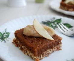 Raw apple slice