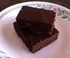 4 ingredient Gluten Free Magic Bean Brownie