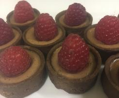 Mini Choc-Raspberry Tarts