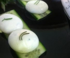 Tzatziki Spherification