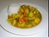 Mango Chicken Curry with Rice