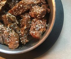 Variation Braised Pork Ribs Using Thermomix