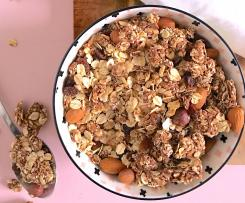 Clumpy Chocolate Granola