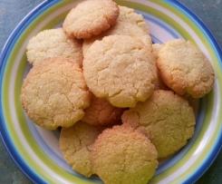 Crisp Coconut Biscuits