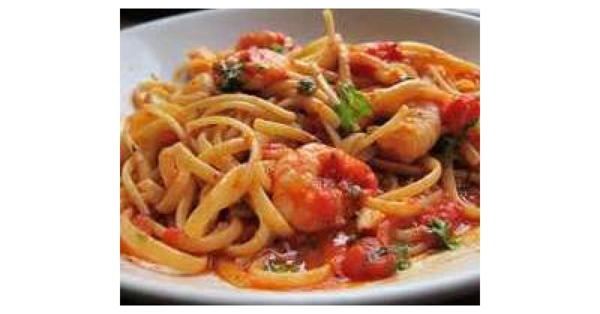 Chilli Prawn Squid And Scallop Pasta Dish By Nicole22 On Www Recipecommunity Com Au