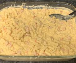 Red Capsicum Mac and cheese.