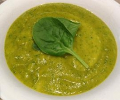 Pumpkin Lentil Spinach Soup