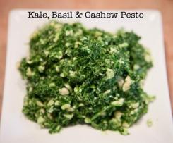 Kale, Basil & Cashew Pesto