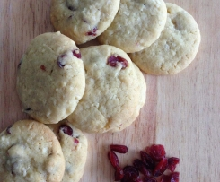 Cranberry Coconut Biscuits