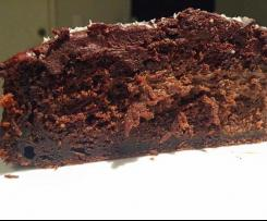 "Quick ""Chocolate"" Cake - Gluten Free"