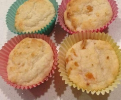 Coconut & Apricot Muffins (Gluten Free, Dairy free, Egg Free)