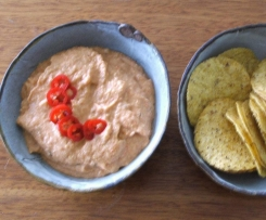 Spicy Tomato and Corn Dip