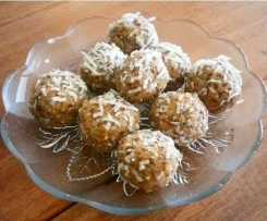 Apricot & Lemon Bliss Balls