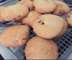 Choc Chunk Cookies (cake style)