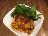 Vegetarian Lasagne (Gluten free Dairy free option)