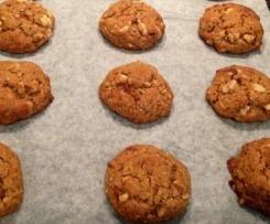 Mandarin & Walnut cookies