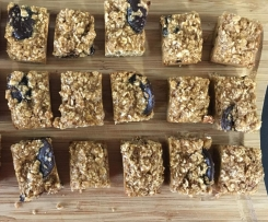 Choc Chip Oat Bars