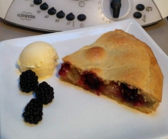 Nan's Blackberry and Apple Pie