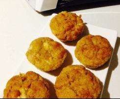 Gluten free apple and cinnamon muffins