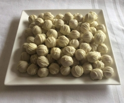 White Chocolate , Orange & Coconut Truffles.