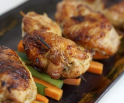 5 Spice Stuffed Chinese Style Chicken Wings - Paleo/GAPS