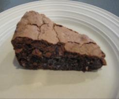 Chocolate Macadamia Date Torte