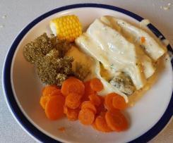 Creamy Chicken Canelloni