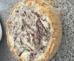 Chocolate Swirl Cheese Cake