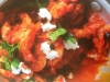 Harissa and tomato Prawns with feta converted from woman's weekly super foods cookbook
