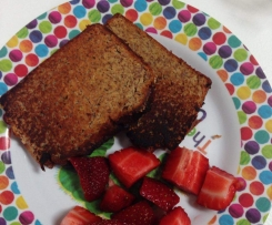Simple Sugar-Free Banana Bread