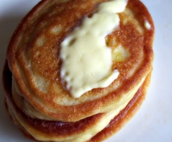 Clean Fluffy Coconut Flour Pancakes