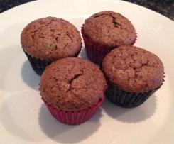 Hazelnut Brownie Bites (gluten and dairy free)
