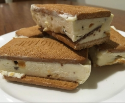 Honeycomb Ice Cream Slice