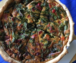 Vegetable Quiche Dairy- free