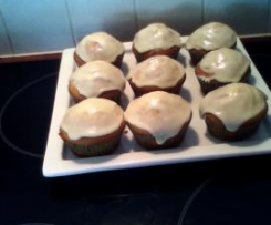 Little orange tea cakes