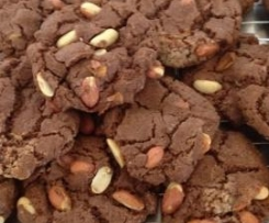 Gran's Chocolate and Peanut Biscuits