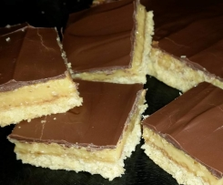 Chocolate Caramel Slice ( makes 2 slabs)