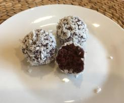 Choc Beetroot Bliss Balls - Nut free