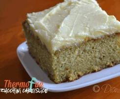 Zucchini Cake - ThermoFun