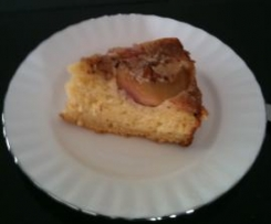 Up Side Down Peach Cake