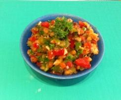 Mushroom Capsicum Salad