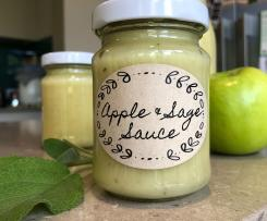 Apple and sage sauce