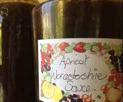 Apricot Worcestershire Sauce