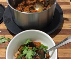 FODMAP friendly Eggplant Curry