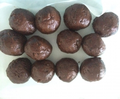 Raw Brownie Bites